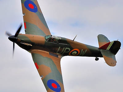 Giant 1/5 Scale British WW-II Hawker Hurricane Plans and Templates 92ws