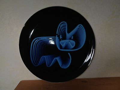Royal Doulton Street Art Pure Evil Neon Bunny Plate LTD Edition of 2000 COA