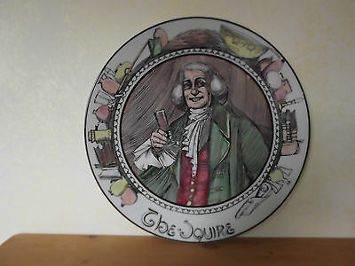 Royal Doulton Translucent Collector Plate 'The Squire'  TC1051