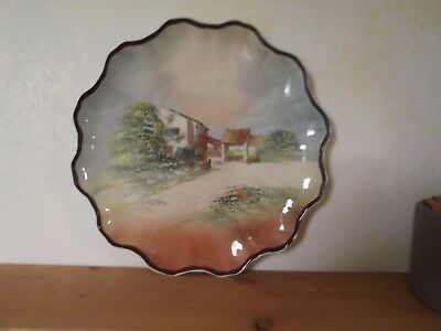 Royal Doulton Beautiful Shakespeare Series Ware Scalloped Plate