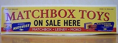 Matchbox Toys on sale here Display stickers ( A )