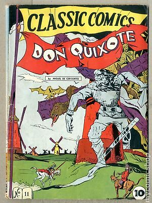 Classics Illustrated 011 Don Quixote (1943) #1 GD/VG 3.0