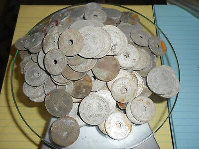 VERY RARE LOT - 149 x COIN - 426 GRAMMES - VIETNAM WAR COINS - North, South, RVN