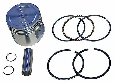 Honda CM200T Custom piston kit +1.00 o/s (1980-1982) 54.00mm bore, Japanese made