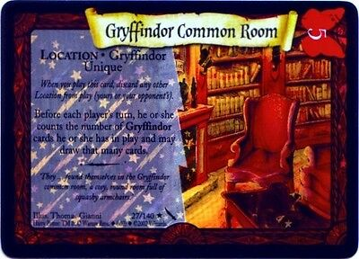 Harry Potter CoS foil card *GRYFFINDOR COMMON ROOM*