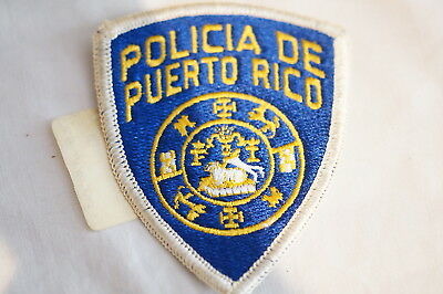US Puerto Rico Police Patch