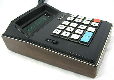RARE 70´s SUPERLECTRON / LIEBERMANN  CO CALCULATOR TE 8000 TISCH RECHNER WORKING