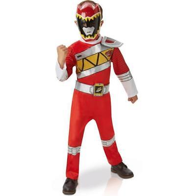 POWER RANGERS Déguisement Luxe Rouge Dino Charge