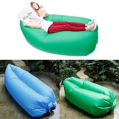Canapé sac gonflable a l'air PLAGE PISCINE MER CAMPING DETENTE RELAXATION hamac