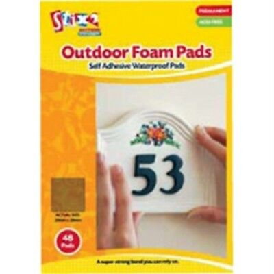 Pack Of 56 Double Sided Foam Pads - Stix2