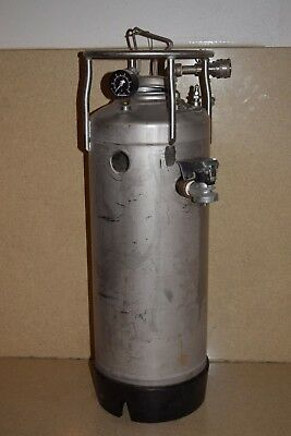 """Alloy Products Stainless Pressure Tank 27 1/2 X 9"""" T316L"""