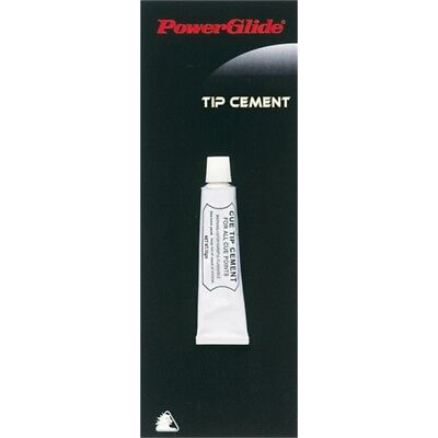 Snooker Cue Tip Cement For All Cue Points - Powerglide Pool Glue