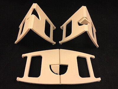 3 Piece Lot-Leeds Display Stand Co Ltd-Leeds 11-Made In England-Plastic Stands