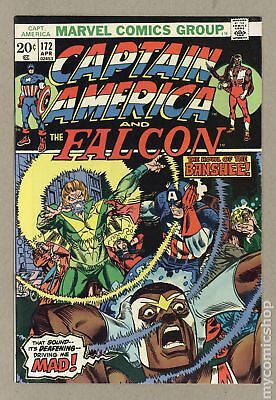 Captain America (1968 1st Series) #172 VF- 7.5