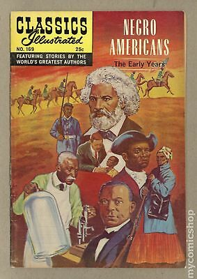 Classics Illustrated 169 Negro Americans the Early Years #2 VG+ 4.5