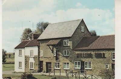 Billing Mill & Milling Museum. Postcard in Fair Condition. Unused. Some wear