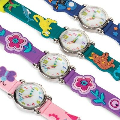 Fun Timers - Children's Watch - Childrens Dinosaur Butterfly Space Princes