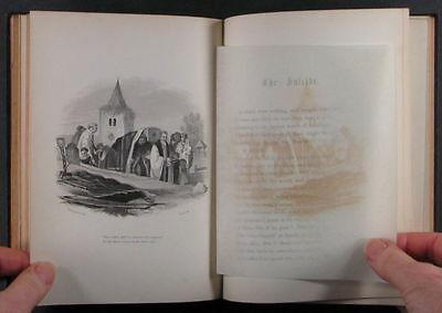 Book: Nice 1851 Illustrated Edition of 'The Grave', a Classic Robert Blair Poem