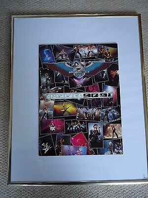 Scorpions Crazy World Tour Programme 1990 Vintage Original Collectible Mint Gem
