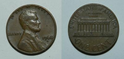 United States : Lincoln Cent 1968 D