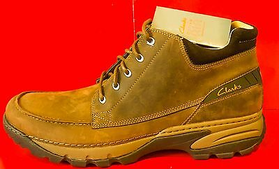 Brand New W tag Clarks Mens walking boots 11 g Nubuck leather tops