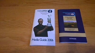 2006 The Open Golf Championship Media Guide and Competitors edition programme