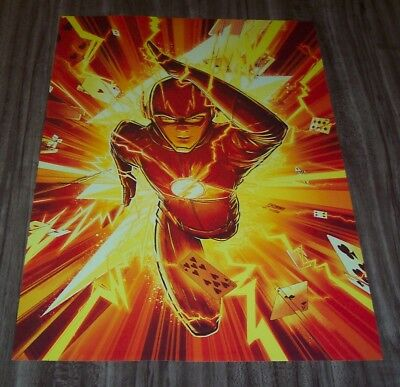 THE FLASH Dc Comics CW NEW YORK COMIC CON EXCLUSIVE PROMO POSTER ART PRINT