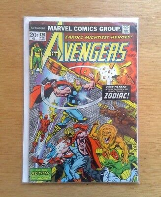 THE AVENGERS #120 MARVEL COMICS  FEB. 1974 1st PRINT STAN LEE CENTS ISSUE