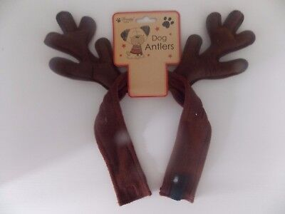 christmas dog antlers headband