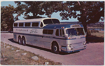 The Greyhound Lines Dual Level Scenicruiser Bus