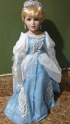 New Fairy Tale Collection Cinderella Porcelain Doll