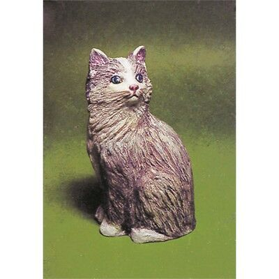 Cat - Plaster Casting Mould - Sac - Cast Create Craft Crafts