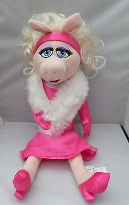 Disney Store Miss Piggy In A Pink Dress Soft Toy