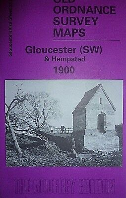 Old Ordnance Survey Map Gloucester Sw & Hempsted Gloucestershire  1900 S33.02