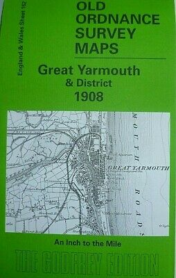 Old Ordnance Survey Maps Great Yarmouth District & Plan Reedham 1908/1926 S162