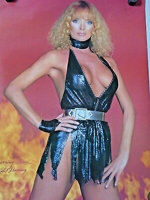 Sybil Danning / Orig. 80's pin-up Poster - #2158 / Exc. new cond.- 22 x 32""