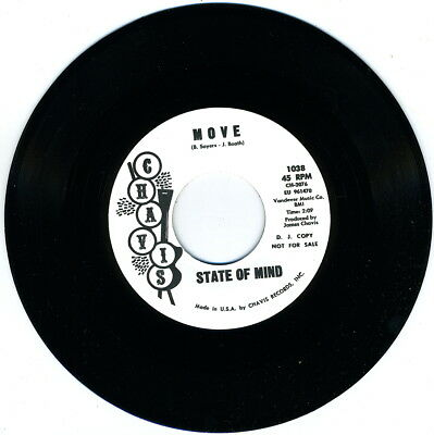 STATE OF MIND - Move (Chavis) BOSS '66 DELAWARE GARAGE PUNK MOVER!!