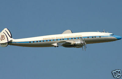 Giant 1/14 Scale Lockheed Super Constellation Plans and Templates 108ws
