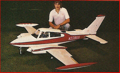 Giant Scale Bud Nosen Cessna 310 Plans, Templates and Instructions 120ws