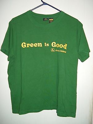 John Deere - Green is Good -  Youth XL (16/18) T-Shirt