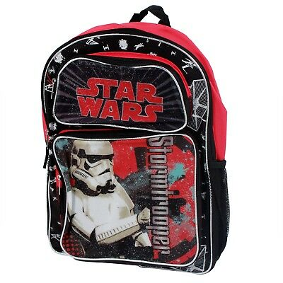 "Star Wars Stormtrooper Boys 16"" School Backpack Bag"