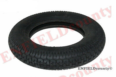 "SINGLE UNIT FRONT REAR MRF LAMBRETTA VESPA 3.5"" X10"" RUBBER WHEEL TYRE TIRE @AEs"