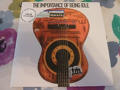 "OASIS - The Importance Of Being Idle - 7"" Vinyl RKID31 - MINT & UNPLAYED"