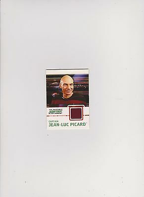 Star Trek Tng Quotable Colour Costume Card C1 Jean-Luc Picard