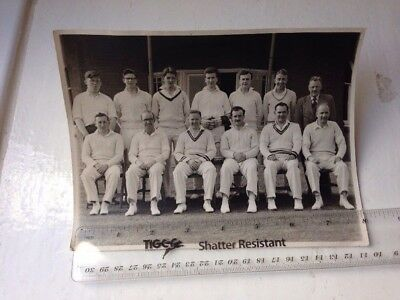 Vintage Cricket Photo Old Photograph Scottish History Scotland