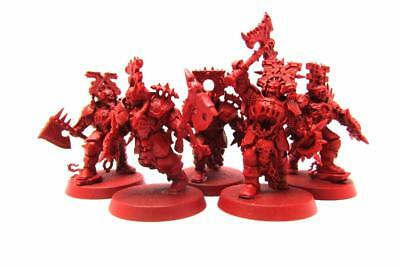 Warhammer Fantasy Age Of Sigmar Blades Of Khorne Blood Warriors Regiment (w5352)
