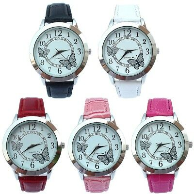 10pcs Mixed Women's Fashion Butterfly Watches Ladies Quartz Casual Wrist Watch