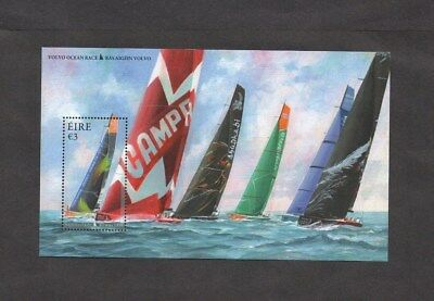 Ireland.2012. 3 Euros Volvo Ocean Race.miniature Sheet.mint Never Hinged.