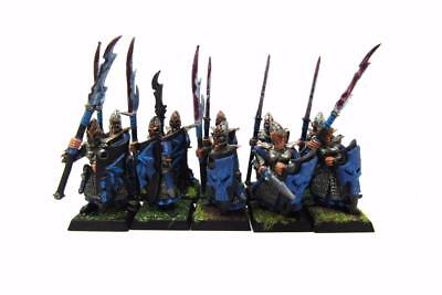 Warhammer Fantasy Age Of Sigmar Aelfs Dark Elves Dreadspears Regiment (w5403)