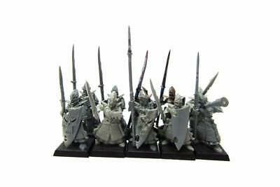 Warhammer Fantasy Age Of Sigmar Aelfs Dark Elves Dreadspears Regiment (w5421)